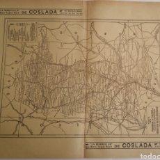 Mapas contemporáneos: PROVINCIA DE PALENCIA MAPA ANTIGUO AÑO 1935 BAILLY BAILLIERE. Lote 241212205