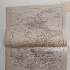 Cartes géographiques contemporaines: MAPA CORREOS - ITINERARIO N.5 - BURGOS, MIRANDA DE EBRO, CIDAD - D. -S. LEONARDO, BERNEDO, BRIVIESCA. Lote 241984725