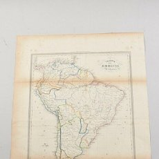 Cartes géographiques contemporaines: SUDAMÉRICA, AMERICA MERIDIONALE; CESARE MAGGI - CARTE DE LAMERIQUE MÈRIDIONALE. Lote 243103405