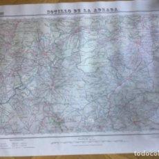 Mapas contemporáneos: MAPA DE SOTILLO DE LA ADRADA, ÁVILA E 1:50.000 PRIMERA EDICIÓN 1940. Lote 243553805