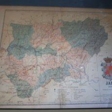 Cartes géographiques contemporaines: MAPA PROVINCIA DE JAEN BENITO CHIAS 1902. Lote 244499460