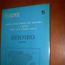 Mapas contemporáneos: BERMEO / MAPA GEOLÓGICO DE ESPAÑA. Lote 244698605