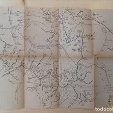 Mapas contemporáneos: MAPA DE LAS MONTAÑAS DE SALARDÚ - 446X332 - VALL D'ARÀN - INÉDITO EN TODOCOLECCIÓN.. Lote 244701230
