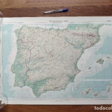 Mapas contemporáneos: INSTITUTO GEÓGRAFICO DE ESPAÑA - EDICIÓN 1961 * LOTE 21 LÁMINAS 150 FOTOS ATLAS GEÓGRAFICO DE ESPAÑA. Lote 244736205