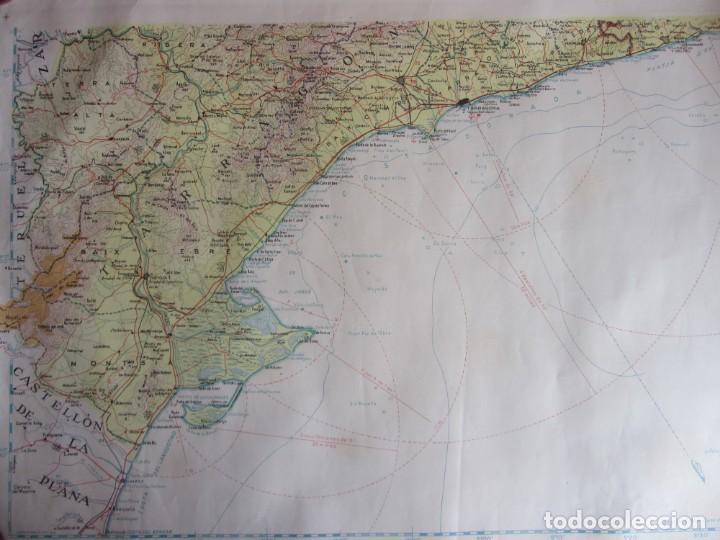 MAPA TOPOGRÁFICO DE CATALUNYA. ED. ALPINA. ESCALA 1:250.000 1964? ZONA DEL EBRO (Coleccionismo - Mapas - Mapas actuales (desde siglo XIX))