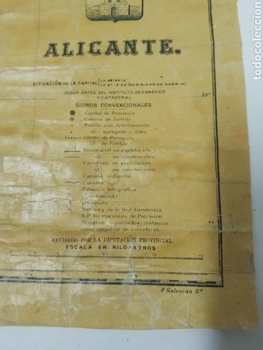 Mapas contemporáneos: Mapa de Alicante ,Benito Chian ,Editorial Martin - Foto 2 - 245297045