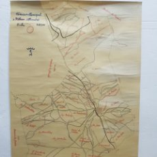 Mappe contemporanee: MAPA TERMINO MUNICIPAL DE VILLENA ,AÑO 1958. Lote 245297530