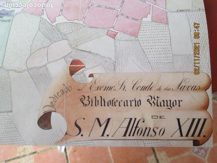 Mapas contemporáneos: PLANO DE LA CIUDAD DE LUCENA - AÑO 1912 - HH. MARISTAS - MIDE 65X47 CM. - Foto 2 - 245380715