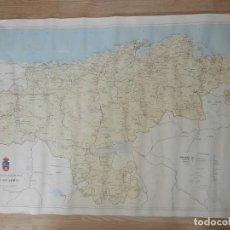 Mapas contemporáneos: MAPA CANTABRIA SECCIÓN CARTOGRAFÍA DIPUTACIÓN REGIONAL ESCALA 1:100.000 GRAN TAMAÑO. Lote 245389630