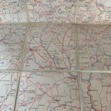 """Mapas contemporáneos: MAPA GEOGRÁFICO DE LA COMARCA """"EL CARDONER"""" (BOLS, 3). Lote 245609160"""