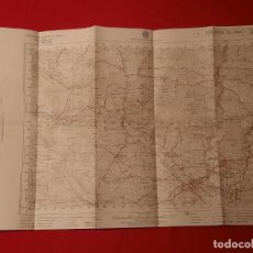 Mappe contemporanee: 2 MAPAS MIRANDA DE EBRO BURGOS 1959 1953 CARTOGRAFIA MILITAR DE ESPAÑA. Lote 245998240