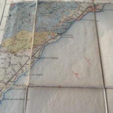 Mapas contemporáneos: MAPA EN TELA 1931 DE HOSPITALET D'INFANT, INSTITUTO GEOLÓGICO Y MINERO DE ESPAÑA (BOLS 3). Lote 246132920