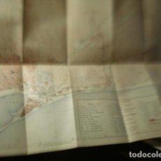 Mapas contemporáneos: BARCELONA RARISIMO PLANO FRANCES DE LA CIUDAD - AÑO 1879 - MEDIDAS 35 X 25 CM. Lote 248838550