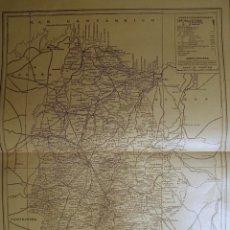 Mapas contemporáneos: PROVINCIA DE LUGO MAPA ANTIGUO 1935 BAILLY BAILLIERE. Lote 249240305