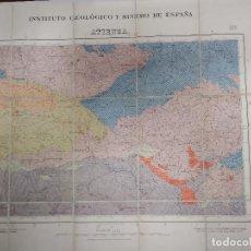 Mapas contemporáneos: MAPA DEL INSTITUTO GEOLÓGICO Y MINERO DE ESPAÑA. HOJA 433. Nº23. ATIENZA. Lote 249560300