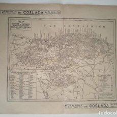 Mapas contemporáneos: PROVINCIA DE SANTANDER MAPA ANTIGUO 1935 BAILLY BAILLIERE. Lote 251487475