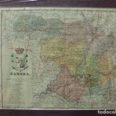 Mappe contemporanee: MAPA ANTIGO DE LA PROVINCIA DE ZAMORA. AUTOR BENITO CHIAS INGº. AÑO 1910 G-MAPAS-038. Lote 251951800
