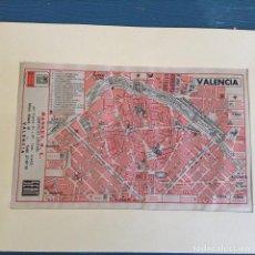 Mapas contemporáneos: PLANO-MAPA VINTAGE VALENCIA. Lote 252583700