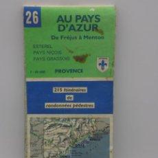 Mapas contemporáneos: MAPA FRANCES. Lote 252727100