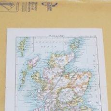 Mapas contemporáneos: ESCOCIA MAPA N° 19 POCKET ATLAS 16 X 12 CENTÍMETROS. Lote 252939685