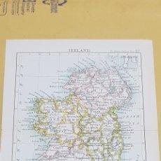 Mapas contemporáneos: IRLANDA MAPA N°22 POCKET ATLAS 16 X 12 CENTÍMETROS. Lote 252940550