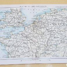 Mapas contemporáneos: RUTAS AL CONTINENTE MAPA N°23A POCKET ATLAS 16 X 12 CENTÍMETROS. Lote 252941395