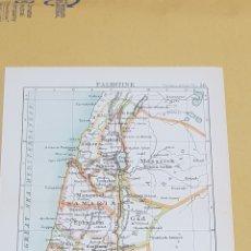 Mapas contemporáneos: PALESTINA MAPA N°36 POCKET ATLAS 16 X 12 CENTÍMETROS. Lote 252942330