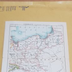 Mapas contemporáneos: ALEMANIA SECCIÓN ESTE MAPA N°28 B POCKET ATLAS 16 X 12 CENTÍMETROS. Lote 252943100