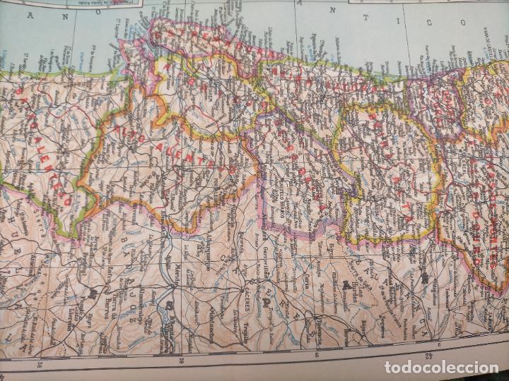 Mapas contemporáneos: 49X34 CM ANTIGUO MAPA ORIGINAL PORTUGAL . ISLAS DE CABO VERDE MADEIRAS AZORES - Foto 7 - 253718255