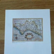 Mapas contemporáneos: * REPRODUCCIÓN * REINO DE VALENCIA * REGNI VALENTIATE TYPUS- JODOCUS HONDIUS-... AMSTERDAM 1607. Lote 254346315