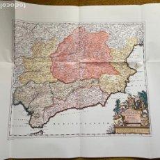 Mapas contemporáneos: * REPRODUCCIÓN * REINO DE VALENCIA * REGNORUM CASTELLANE... / FREDERIC DE WITT - AMSTERDAM C.A. 1690. Lote 254347195