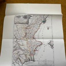 Mapas contemporáneos: * REPRODUCCIÓN * REINO DE VALENCIA * LI REGNI DI VALENZA / GIACOMO CANTELLI - ROMA 1696. Lote 254347570