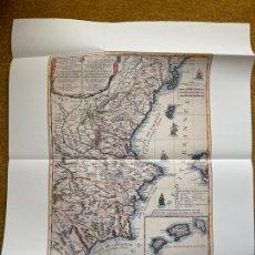 Mapas contemporáneos: * REPRODUCCIÓN * REINO DE VALENCIA * LOS REINOS DE VALENCIA Y MURCIA / GIACOMO CANTELLI - PARÍS 1698. Lote 254348380