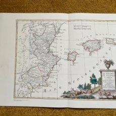 Mapas contemporáneos: * REINO DE VALENCIA * REPRODUCCIÓN * LI REGNI DI VALENZIA E MURCIA / ANTONIO ZATTA - VENECIS 1775. Lote 254357665