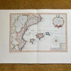 Mapas contemporáneos: * REINO DE VALENCIA * REPRODUCCIÓN * ROYAUME DE VALENCE / PHILLIPPE DE PETROT - PARÍS 1787. Lote 254358085