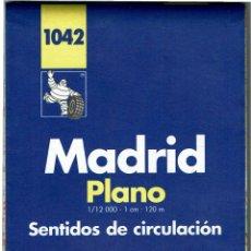 Mapas contemporáneos: PLANO MADRID MICHELIN 1997-1998 SENTIDOS DE CIRCULACION - 1042. Lote 254404550