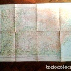 Mapas contemporâneos: MAPA CARTA AERONAUTICA ARGENTINA IGUAZU 105X68CM MB 1954. Lote 255167555