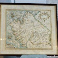 """Mapas contemporáneos: LITOGRAFÍA DE LOS AÑOS 60 DE """"GALLAECIA REGNUM"""". Lote 261843290"""