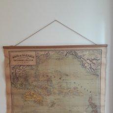 Mapas contemporáneos: MAPA ESCOLAR , OCEANIA. Lote 261862215