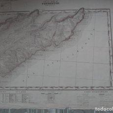 Mapas contemporáneos: MAPA DEL SERVICIO GEOGRÁFICO DE EJÉRCITO - FORMENTOR - 1945. Lote 262247850