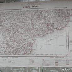 Mapas contemporáneos: MAPA DEL SERVICIO GEOGRÁFICO DE EJÉRCITO - PORTÓ PETRO - 1950. Lote 262249005