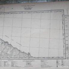Mapas contemporáneos: CUERPO DE ESTADO MAYOR - MAPA PICAFORT. Lote 262250095
