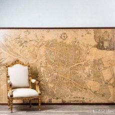 Mapas contemporáneos: PLANO TOPOGRÁFICO ANTIGUO DE LA VILLA DE MADRID. Lote 262541940