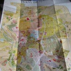 Mapas contemporâneos: MADRID. PLANO DE TURISMO DE LUCIANO DELAGE VILLEGAS. AÑOS 20. 95 X 69 CMS.. Lote 264770454