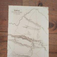 Mapas contemporáneos: MAPA BATALLA FUENTES OÑORO, SALAMANCA, 1811, GUERRA INDEPENDENCIA, ORIGINAL, 1831. LONDRES, NAPIER.. Lote 266355778