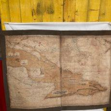 Mapas contemporáneos: ANTIGUO MAPA DE CUBA DE 1882!. Lote 268882954