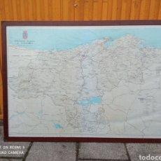 Mapas contemporáneos: MAPA DE CANTABRIA DE LOS AÑOS 70. Lote 269179188