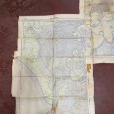 Mapas contemporáneos: SEVILLA. PLANO DEL EL ROCIO Y DOS HERMANAS. IES GEOGRAFICO ESPAÑOL. 1918-55.ESCALA 1/50000. VER/LEER. Lote 269200368