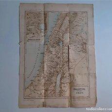 Mapas contemporáneos: 1898 ANTIGUO MAPA PALÄSTINA ZUR ZEIT JESU - 44 X 32.CM. Lote 269437943