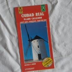 Mapas contemporáneos: (SEVILLA) CIUDAD REAL. PLANO CALLEJERO. EVEREST RACE 1998. Lote 269574383